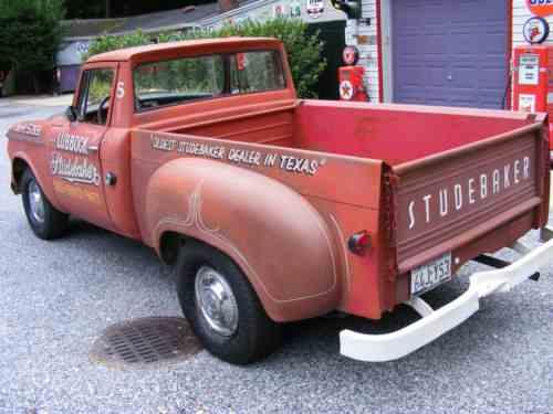Studebaker Champ pickup truck (1961)