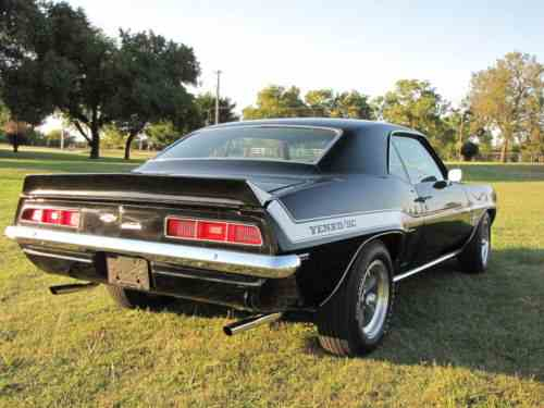 Chevrolet Camaro Yenko 1969 Frame Off Restored 69 Yenko One Owner