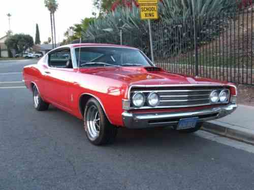 Ford Torino Cobra Jet  Rust Free Southern California R One Owner Cars For Sale
