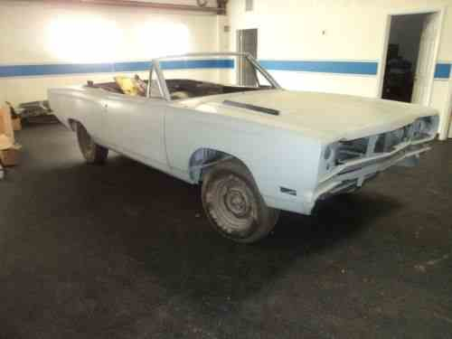 Plymouth Gtx 1969 Convertible One Owner Cars For
