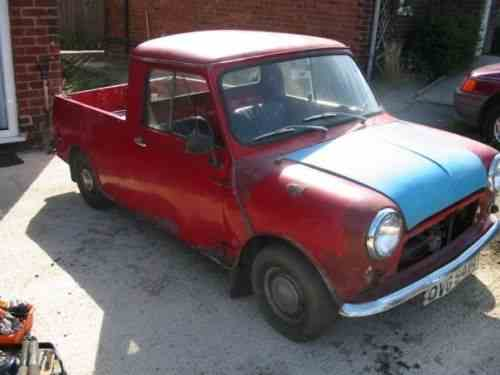 Austin Mini Pickup 2 Door 1976 Leyland Mini Pickup Fully One