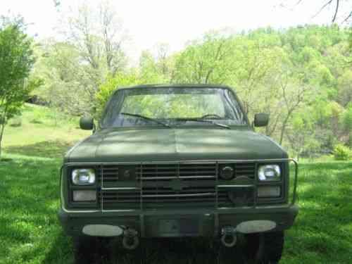 Chevrolet C/K Pickup 3500 (1985)