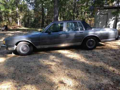 chevrolet caprice sedan 1985 strong running caprice classic one owner cars for sale chevrolet caprice sedan 1985