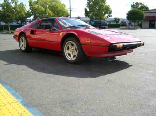 Ferrari 308 Gts For Sale >> Ferrari 308 Ferrari 308 Gts 1985