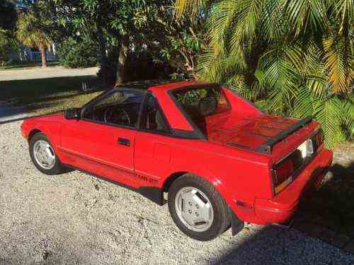 Toyota Mr2 1987 >> Toyota Mr2 1987 Super Fun To Drive You Won T Find Many With One