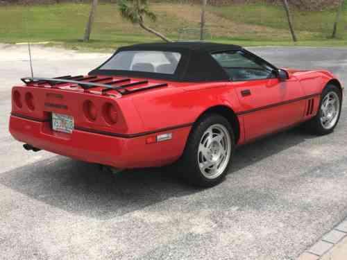 Chevrolet Corvette CONVERTIBLE (1990)