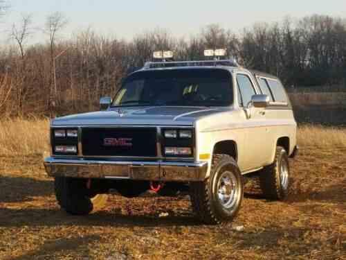 Gmc Jimmy Sle 1985 | Gmc Jimmy *texas Truck* New Paint *new: One