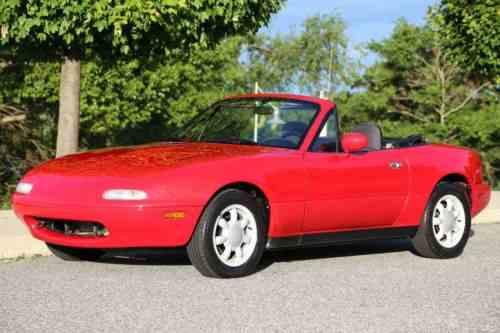 Mazda Mx 5 Miata Convertible 1990 No Reserve Auction