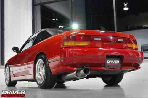 Nissan 180SX S13 Type-III RHD JDM SR20 Turbo not 240 (1992)