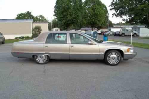 cadillac fleetwood brougham 1995 cadillac fleetwood brougham one owner cars for sale cadillac fleetwood brougham 1995