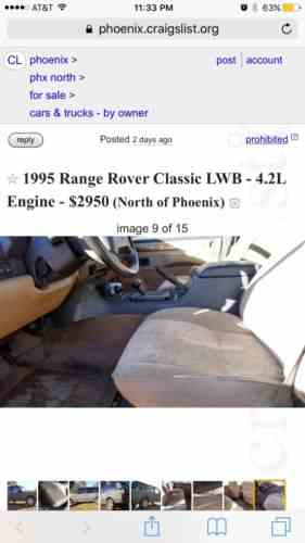 Land Rover Range Rover (1995)