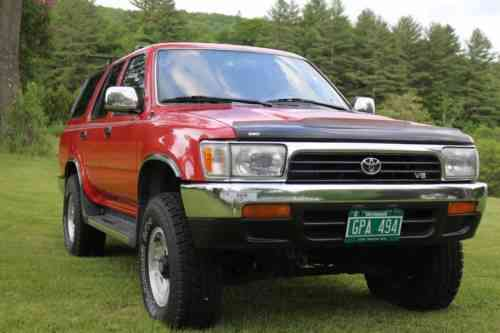 toyota 4runner sr5 1995 this is a 2nd generation 4 runner one owner cars for sale 1car one