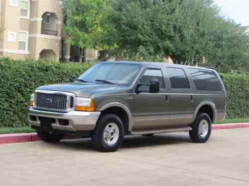 Ford Excursion Limited 7 3l Diesel 4x4 Low Miles 76k Garaged One Owner Cars For Sale