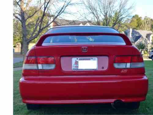 Honda Civic 2000 A Rare And Extremely Nice Civic Si Daily One