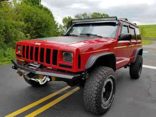 Lifted Jeep Cherokee >> Jeep Cherokee Sport 4 0l 4x4 87k Low Miles Lifted Nr 2001