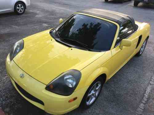 Toyota Mr2 Base Convertible 2 Door 2001