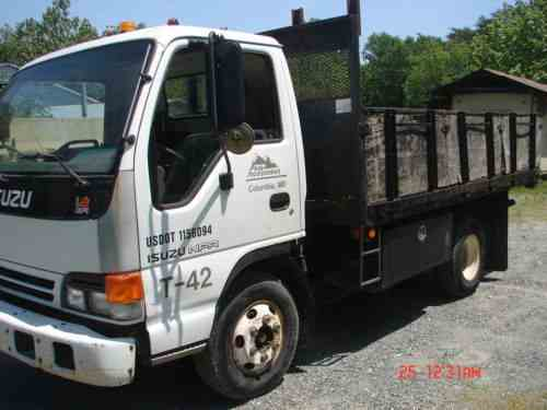 isuzu npr 2002 | one-owner company maintained work truck 12 ft: one