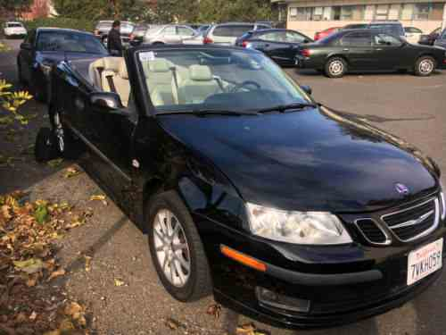 Saab 9 3 Arc Turbo Convertible 2005 Clean One Owner Cars For