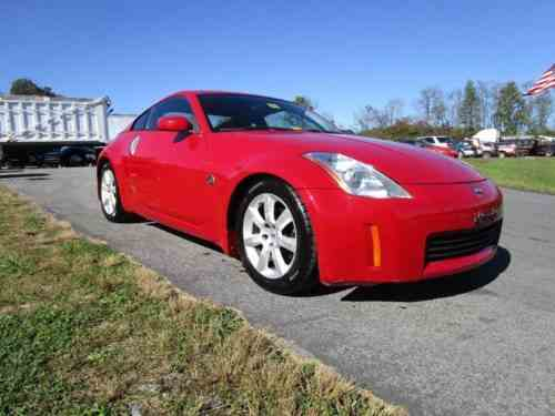 Nissan 350z 2006 2005 Nissan 350z 6 Speed Manual One Owner Cars