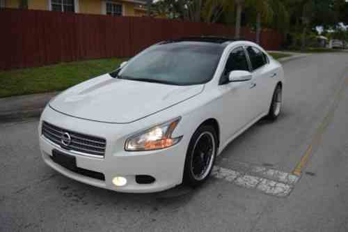 Nissan Maxima Sv 2009 Beautiful Fully Loaded W Premium One Owner