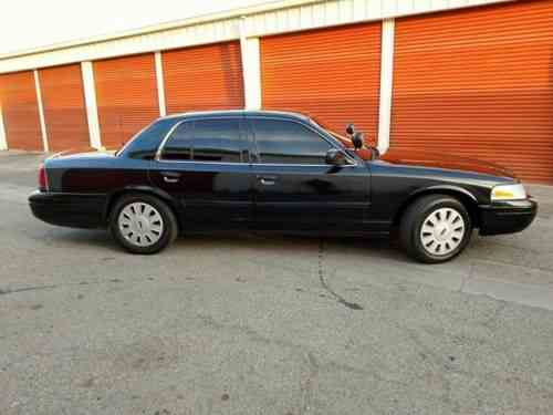 Ford Crown Victoria Police Interceptor  Hi Thank You One Owner Cars For Sale