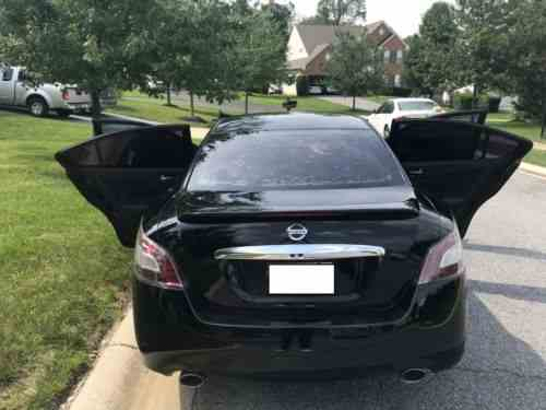 Nissan Maxima 2012 | Hello There For Sale Today Is A Black: One Owner Cars For  Sale