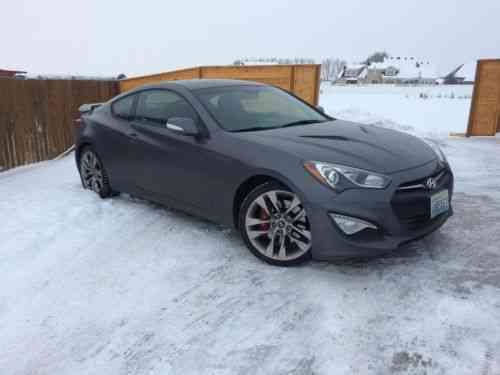 Hyundai Genesis 3 8 Track Coupe 2 Door 2017 Like New Top One Owner Cars For