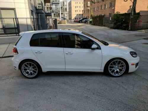 volkswagen gti driver's edition 2014 | four-door mk 6: one-owner