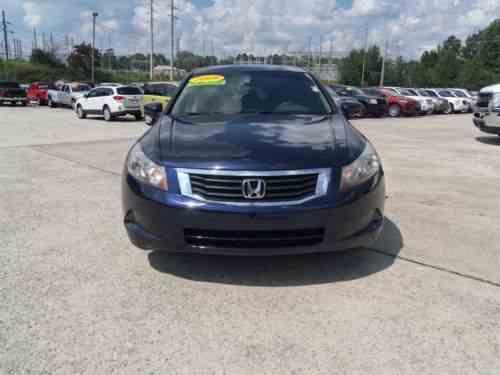Honda Accord Lx 2009 |  Honda Accord Lx Stock #: 3843: One Owner Cars For  Sale